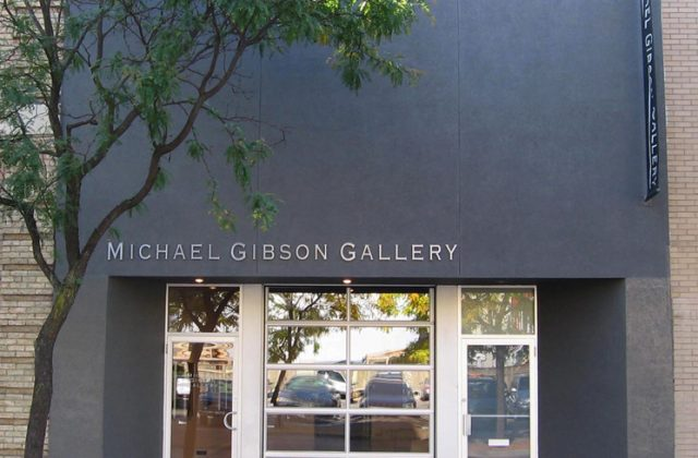 Art Gallery: From The Ground Floor Up: Michael Gibson's improbable ascent to higher ground